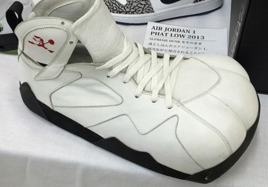 """Air Jordan 7 """"Cardinal"""" PE for Bugs Bunny"""
