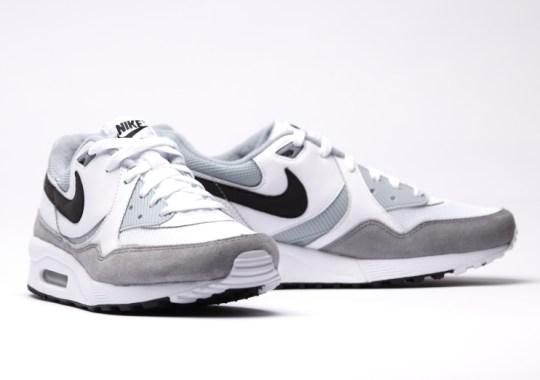 Nike Air Max Light – White – Black – Light Magnet Grey