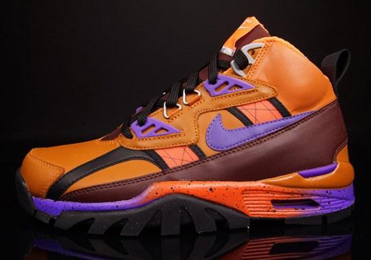 Nike Air Trainer SC High Sneakerboot – Tuscan Rust – Hyper Grape – Barkroot Brown