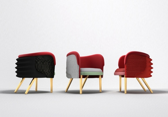 Kanye Rest: Nike Air Yeezy-Inspired Armchairs