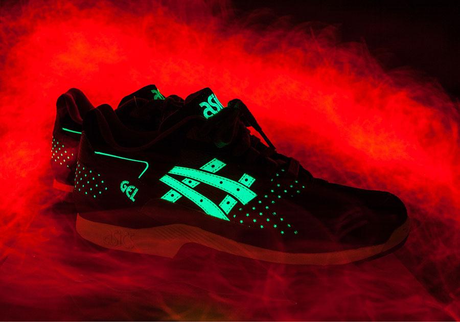 Asics Gel Kayano Trainer 'Glow in the Dark Pack' (Black