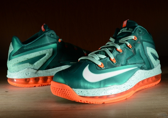 "Nike LeBron 11 Low ""Mystic Green"" – Arriving at Retailers"
