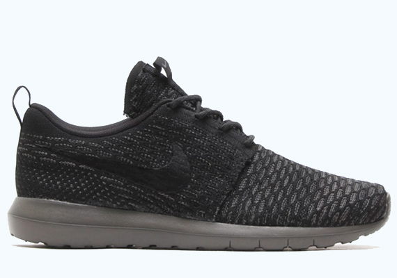 Nike Run Roshe Flyknit Brouillard Minuit Uk Courrier Quotidien