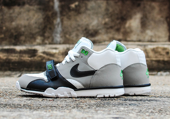 """separation shoes ebed3 49e8b Could it be that the Nike Air Trainer 1 """"Chlorophyll"""" is already back with  another retro re-issue We sort of doubt it given how recently the shoes  were on ..."""