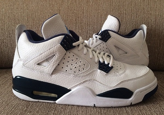 """af11118a1f0ccf Another Look at the Remastered Air Jordan 4 Retro """"Columbia"""""""