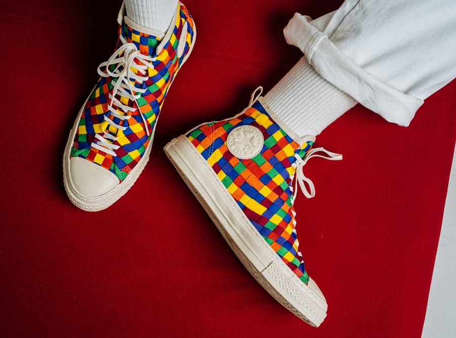 """6b96223338c1 Converse Chuck Taylor All-Star """"Color Weave Collection"""". September 25"""