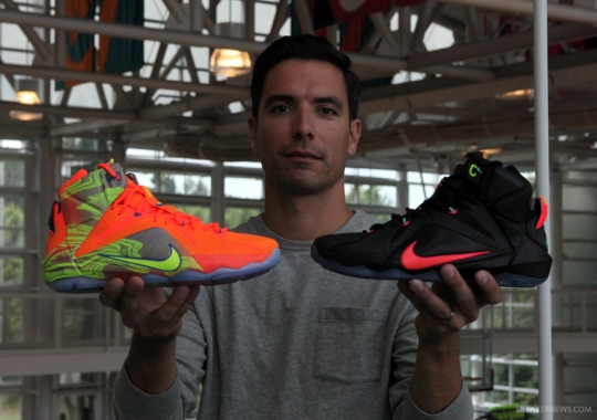 Nike Basketball Color Lead Eugene Rogers Breaks Down The LeBron 12 Colorways