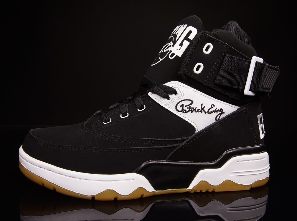 Ewing Focus White/Black-Red & Playoff Release Date