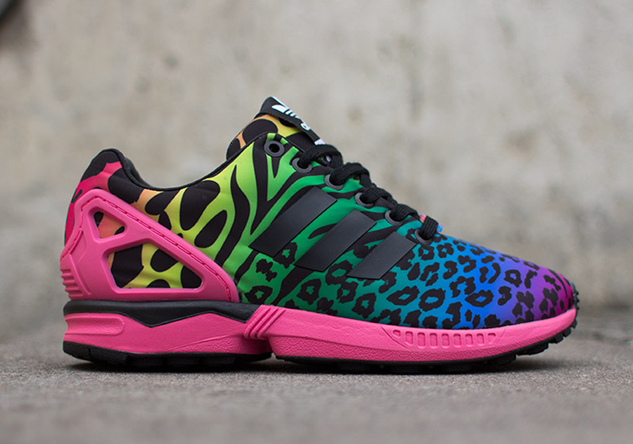 adidas zx flux animal comprar