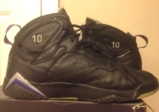 "Air Jordan 7 – Mike Bibby ""Kings"" PE on eBay c5cadcfa81"