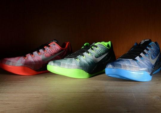 Nike Kobe 9 EM Premium Collection – Arriving at Retailers