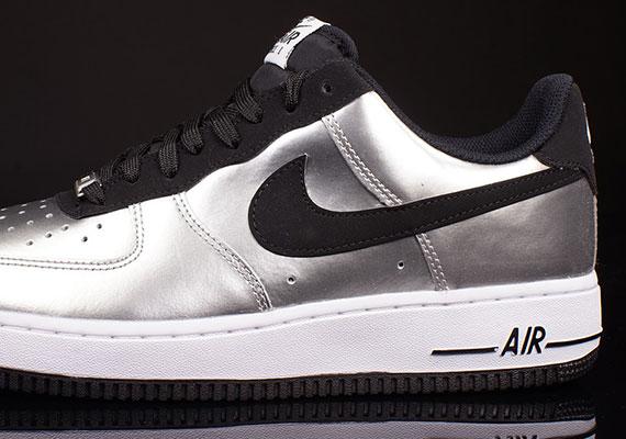 best loved 405cc 920ea Nike Air Force 1 Low – Metallic Silver – Black – White