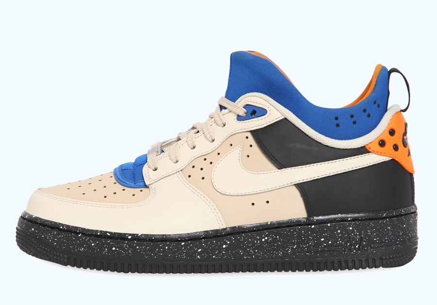 nike air force 1 mowabb hyrbid detailed look. Black Bedroom Furniture Sets. Home Design Ideas