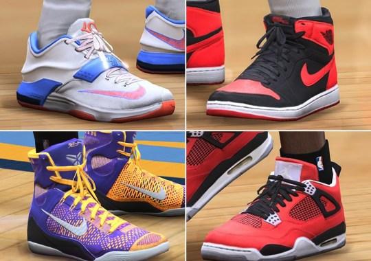 NBA LIVE 15 Sneaker Preview