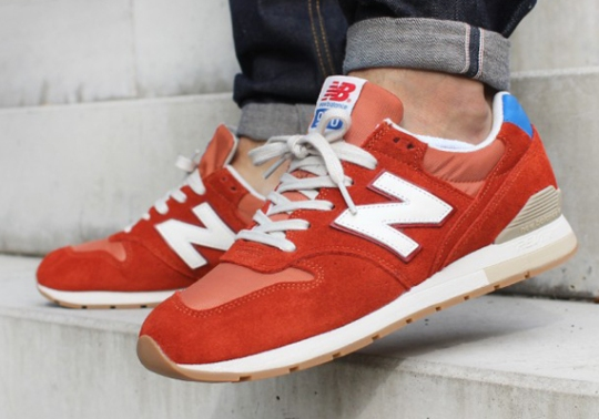 New Balance 996 – Orange – Royal – Gum