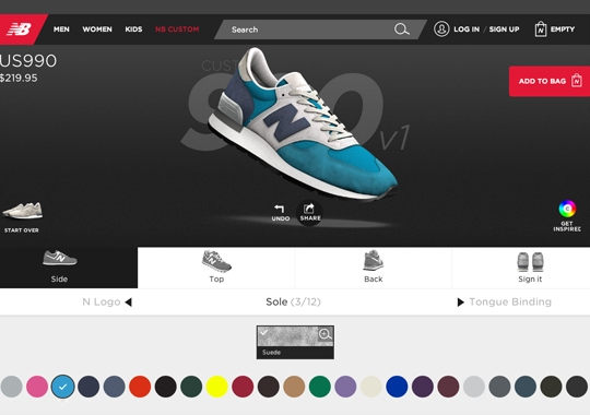 New Balance Revamps Custom Site And Adds New Options For Holiday 2014