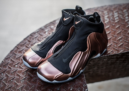"Nike Air Flightposite 2014 Premium ""Copper"""