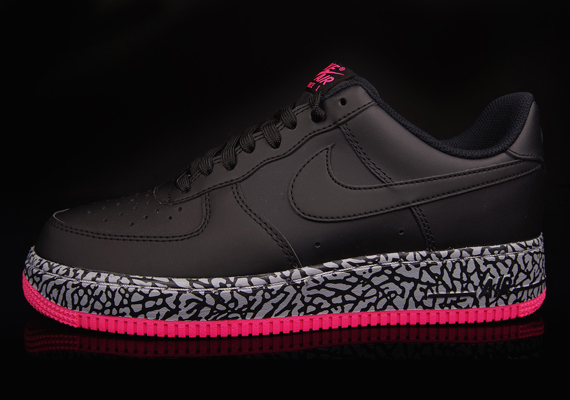 nike air force 1 low black white wolf grey