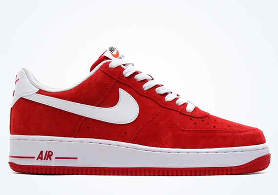 Air Force 1 Suede Red