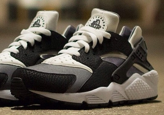 Nike Air Huarache – Black Elephant – Grey – White