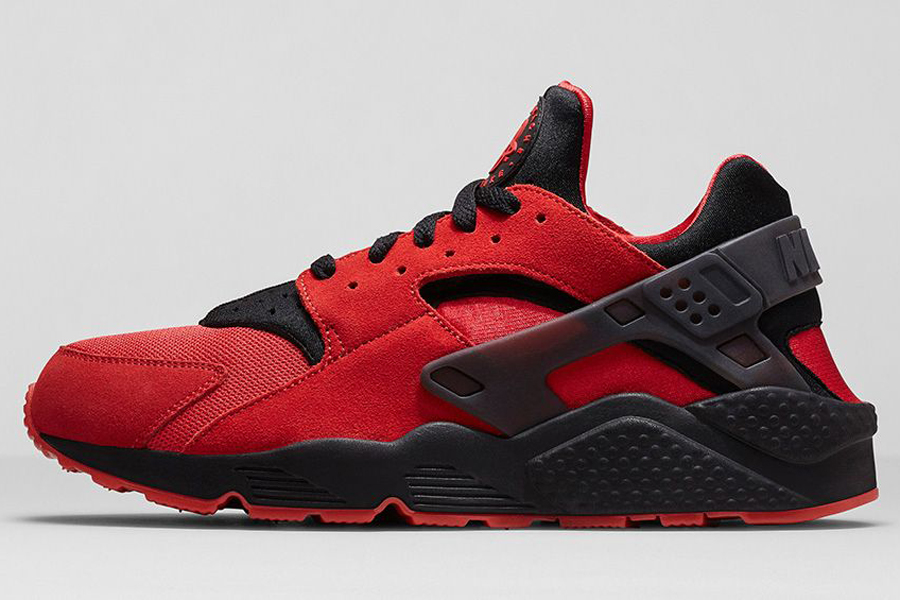 """new arrival 5772f 824b0 Nike Air Huarache """"LoveHate"""" Color University RedBlack Style Code  700878-600. Release Date 092014. Price 110 Available on eBay"""