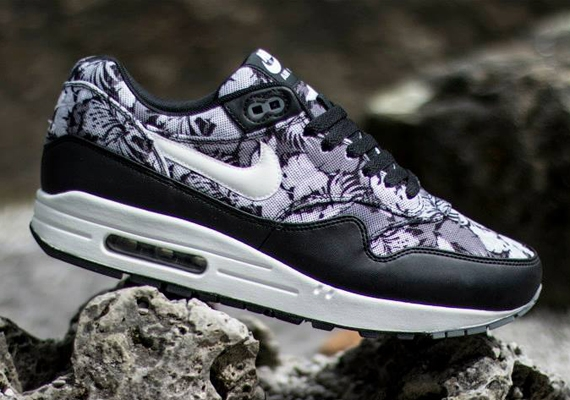 promo code 2e272 7b221 Nike Air Max 1 GPX – Black – White – Dark Grey