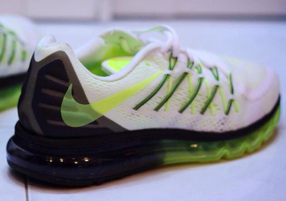 Air Max 2015 White And Black