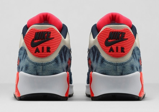 """Nike Air Max 90 """"Infrared Washed Denim"""" – Release Date"""