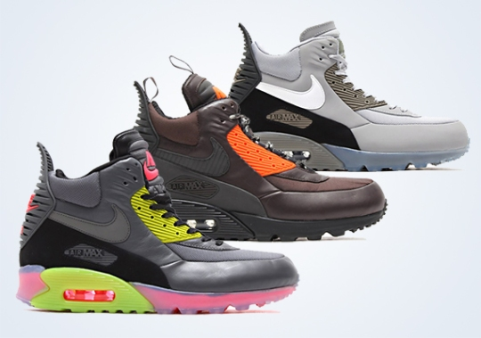 Nike Air Max 90 Sneakerboot – Holiday 2014 Preview