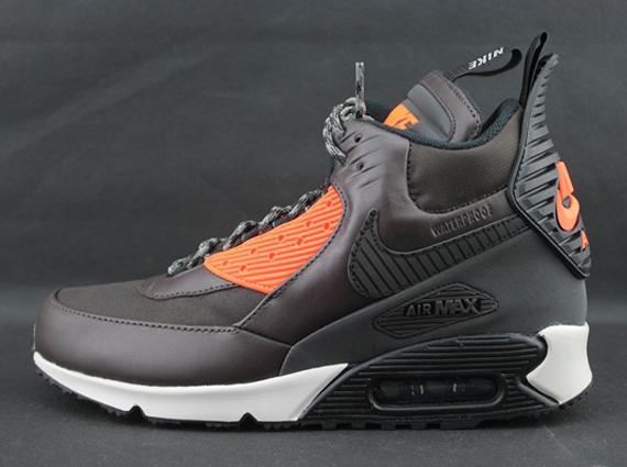 Nike Air Max 90 Chaussure Espadrille Marron Hiver / Oreiller Noir LIQUIDATION usine kP8Uu