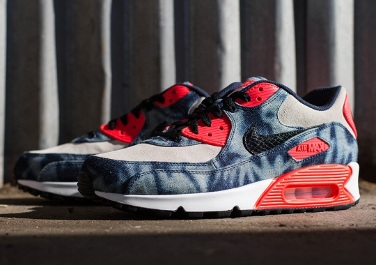 "Nike Air Max 90 ""Washed Denim"" – Release Reminder"