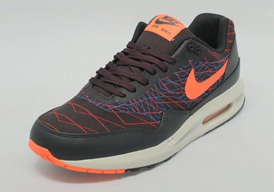 Nike Air Max Lunar1 Jacquard – Black – Orange – Burgundy