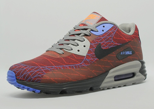 Nike Air Max Lunar90 Jacquard – Red – Purple – Grey