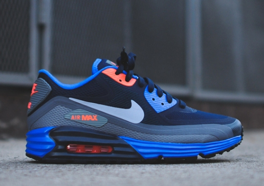Nike Air Max Lunar90 WR – Obsidian – Orange