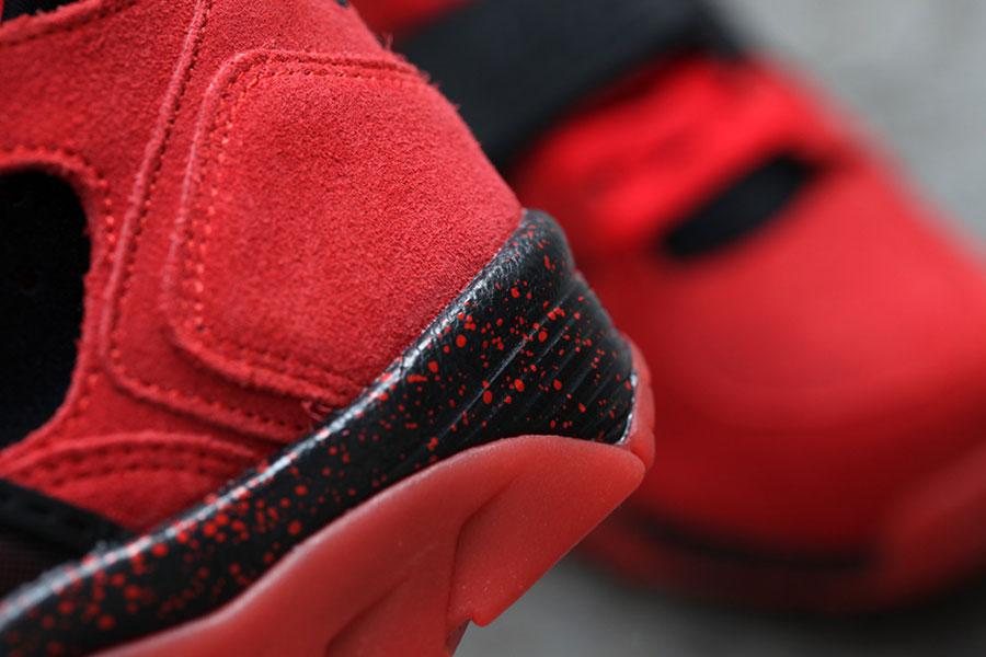 Nike Entrenador Aire Desafío Prima Huarache Rojo / Negro RDm6ZUSR1c