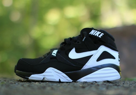 Nike Air Trainer Max '91 – Black – White | Available