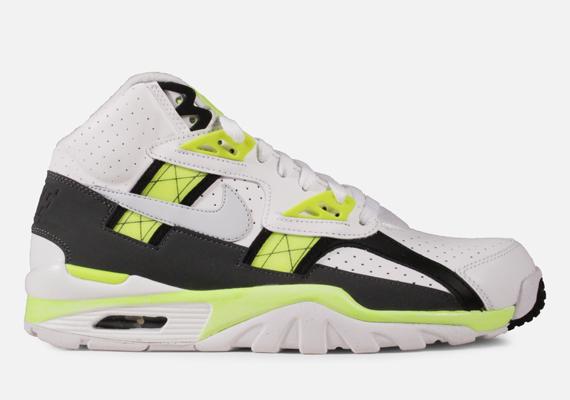 Nike Air Trainer SC High - White - Black - Volt - SneakerNews.com