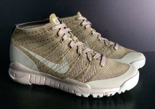 Nike Flyknit Chukka FSB – Unreleased Khaki Sample