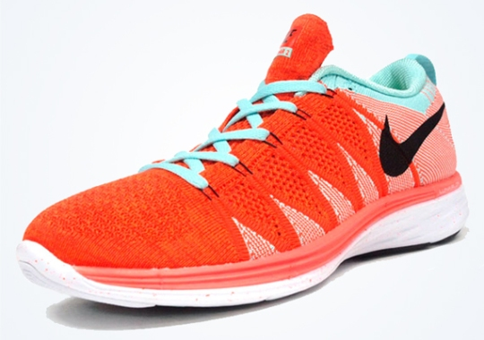 Nike Flyknit Lunar2 – Orange – White – Black