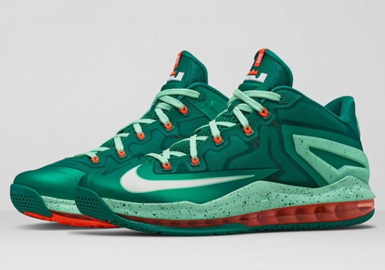 "Nike LeBron 11 Low ""Mystic Green"" – Release Reminder"