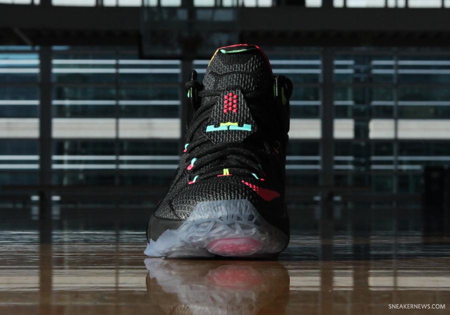 "Nike LeBron 12 ""Data"" - SneakerNews.com"