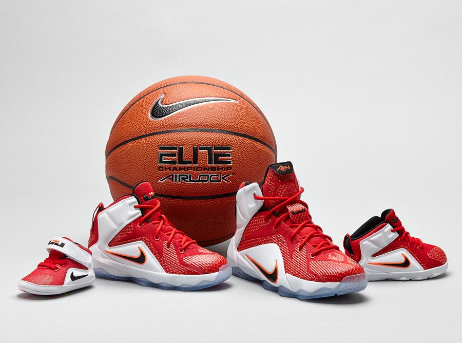 2d7e97974740ec Nike LeBron 12 - Full Family Sizes - SneakerNews.com