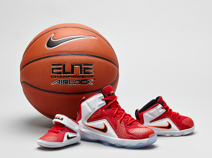 official photos 815b1 e9635 Nike LeBron 12 - Full Family Sizes - SneakerNews.com