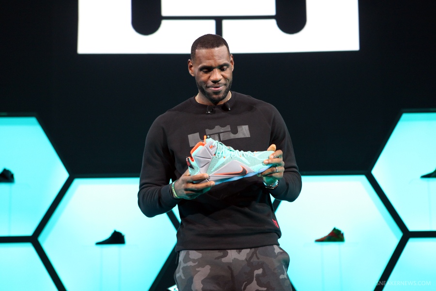 Fruity Pebbles Poured on the Nike LeBron 13