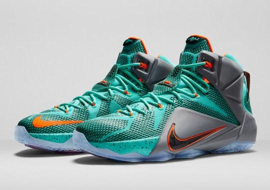 Nike LeBron 12 Release Dates