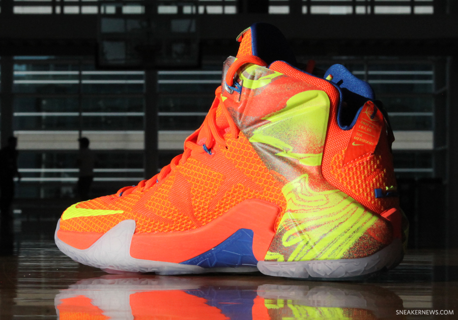 lebron 12 six meridians - photo #9
