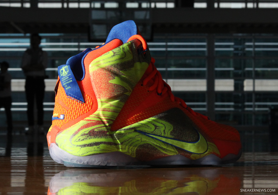 lebron 12 six meridians - photo #7