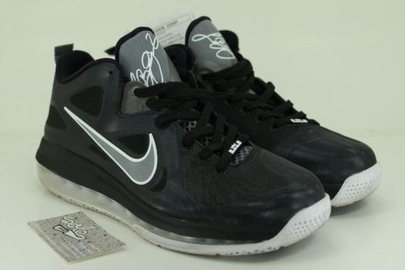 Nike LeBron 9 Low – Unreleased Black/Grey Sample on eBay