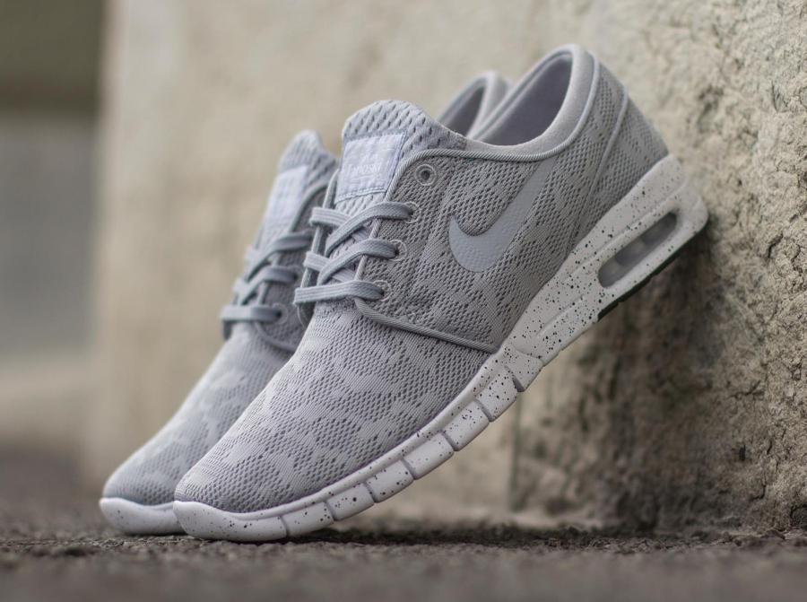 Nike Sb Janoski Max Grey White