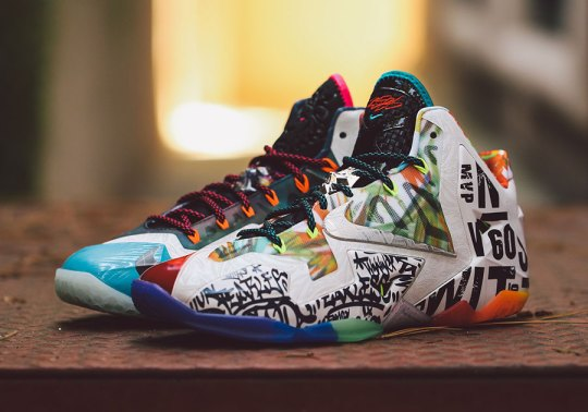 Nike What The LeBron 11 Releases On Saturday, September 13th